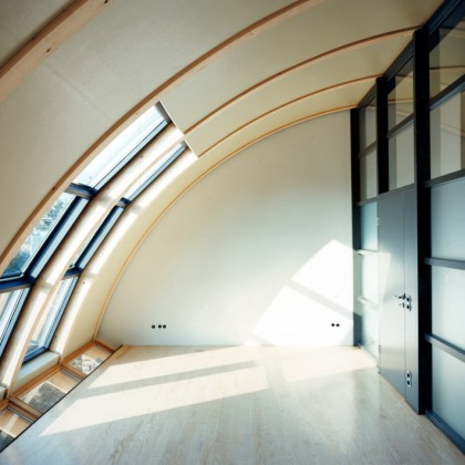 Glastrennwand-Fußboden