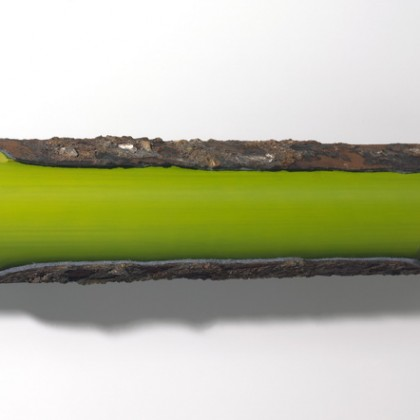Grünes Rohr 1