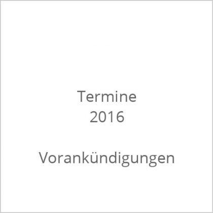 Termine 2016